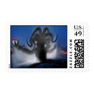Shanghai Cthulhu Postage Stamp