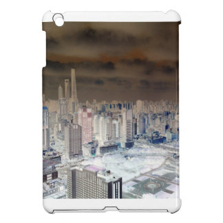 Shanghai Skyline Funk iPad Mini Cases