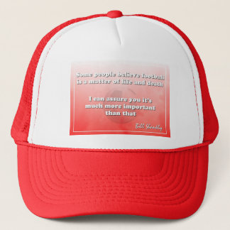 Shankly Quote Cap