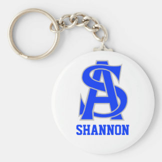 Shannon Basic Round Button Key Ring