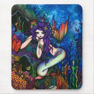 """Shannon"" Mermaid Fantasy Fairy Mouse Mat"