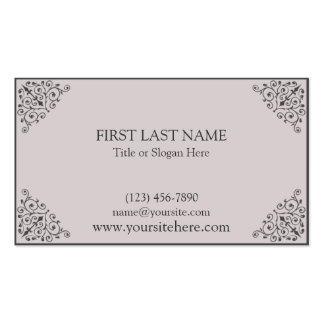 Shannon Pack Of Standard Business Cards
