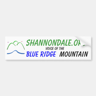 Shannondale.org Bumper Stcker w/ Logo Bumper Sticker