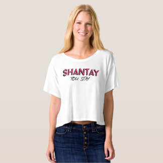 Shantay You Stay / Sashay Away Cropped T-Shirt