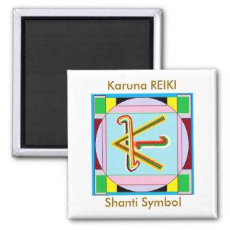 Shanti i.e. Peace: Karuna Reiki Healing Symbol Magnet
