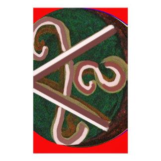 Shanti = Peace Customized Stationery