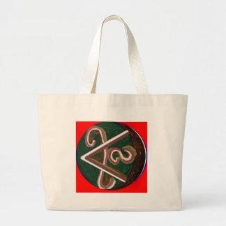 SHANTI Symbol : for Peace Lovers Canvas Bag