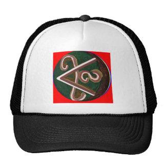 SHANTI Symbol : for Peace Lovers Cap