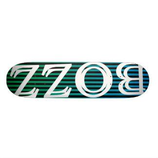 Shape BOZZco. Model: classic1 (ref.18) Custom Skate Board
