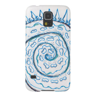 Shape imposed spiral Chiral Galaxy S5 Cover