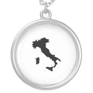 Shape of Italy Custom Necklace