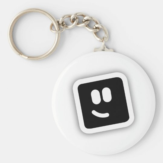 Shape Shape Basic Round Button Key Ring