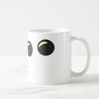 Shape shifting basic white mug