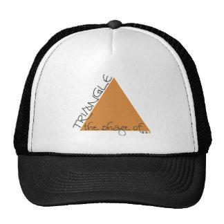Shape: triangle hat