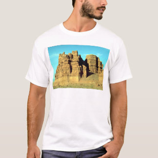 Shaped by rain and wind, Utah rock formation T-Shirt