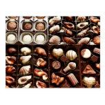 Shaped, Gourmet Chocolate Truffles Postcard