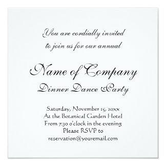 Shapely Victorian Boot Elegant Vintage Fashion 13 Cm X 13 Cm Square Invitation Card