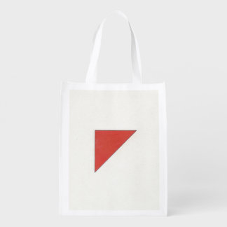 Shapes and Color Reusable Grocery Bag
