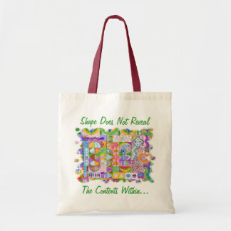 Shapes Budget Tote Bag