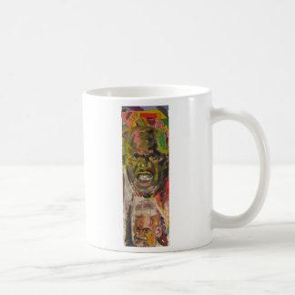 shaquille o'neal basic white mug