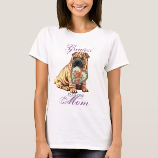 Shar-Pei Heart Mom T-Shirt