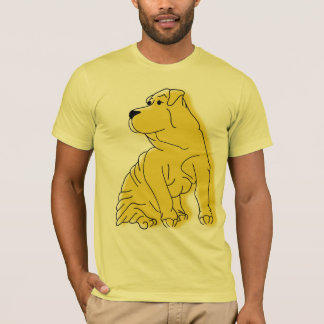 Shar-Pei in Color T-Shirt
