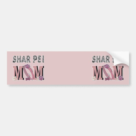Shar Pei MOM Bumper Sticker