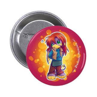 Shara 6 Cm Round Badge
