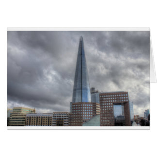 Shard HDR.jpg Greeting Card