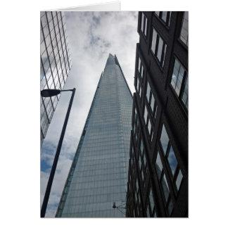 Shard, seen from Tooley Street, London Card
