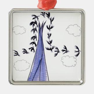ShardArt 4 by Tony Fernandes Christmas Ornament