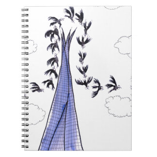 ShardArt 4 by Tony Fernandes Notebooks