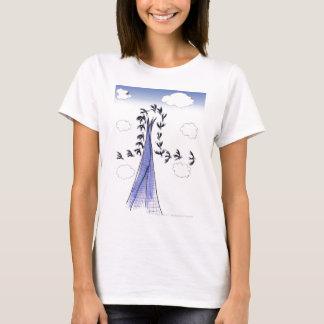 ShardArt Blue Skies by Tony Fernandes T-Shirt