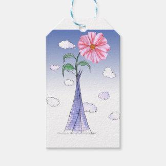 ShardArt Flower Power by Tony Fernandes Gift Tags
