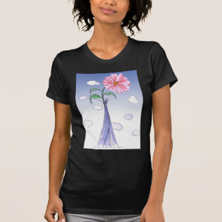 ShardArt Flower Power by Tony Fernandes T-Shirt