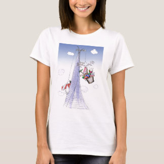 ShardArt Heave-Ho by Tony Fernandes T-Shirt