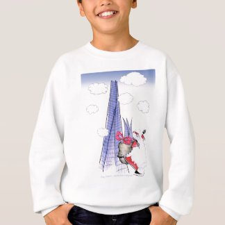 ShardArt Xmas Santa by Tony Fernandes Sweatshirt