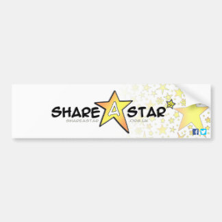 Share a Star Bumper Sticker