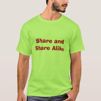 Share and Share Alike T-Shirt