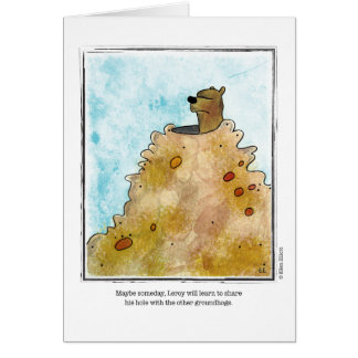 SHARE cartoon by Ellen Elliott Greeting Card