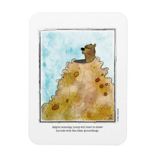 SHARE cartoon by Ellen Elliott Rectangular Photo Magnet