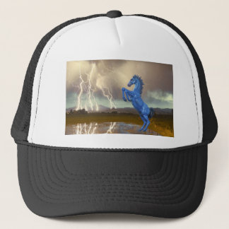 Share Favorite DIA Mustang Bronco Lightning Stor Trucker Hat