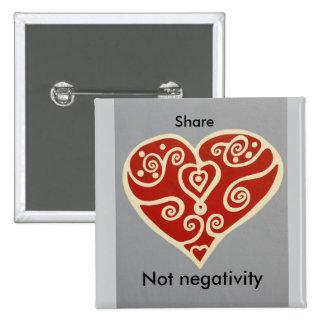 share Love 2 2 Inch Square Button