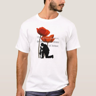 Share Of Honour Remembrance Day T-Shirts