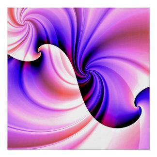 Share or a Wave (wink & violet) Poster