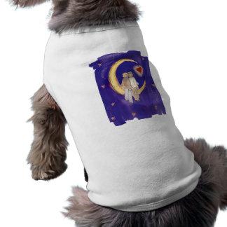 Share Our Joy Grooms on Moon Sleeveless Dog Shirt