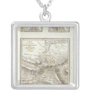Share points and projected Communications Silver Plated Necklace