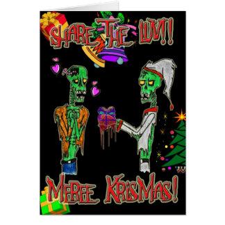 share the love christmas card