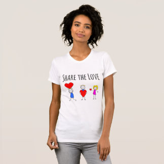 Share The Love - Valentine's Day T-Shirt