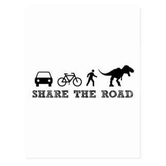 Share the Road Postcard
